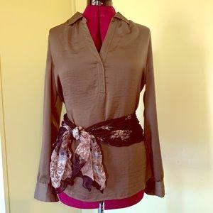 Ann Taylor Loft tunic blouse